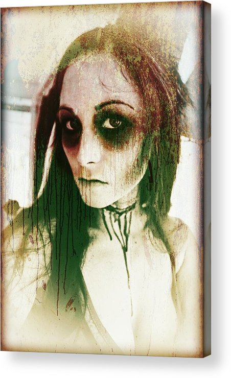 Gothic Acrylic Print featuring the photograph Untitled by Mandy Shupp