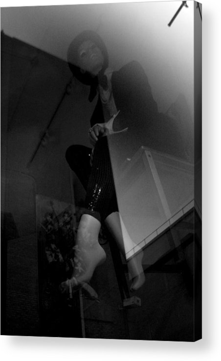 Jez C Self Acrylic Print featuring the photograph Up Here Way Up Here by Jez C Self