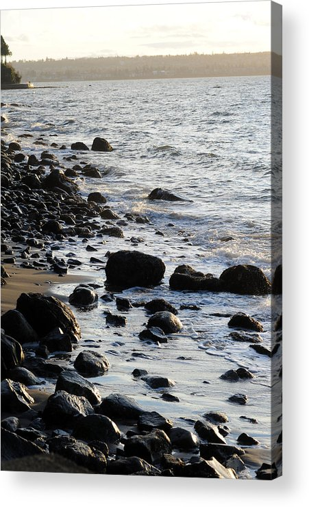 Stanley Park Acrylic Print featuring the photograph Vancouver Shoreline by Jason Evans