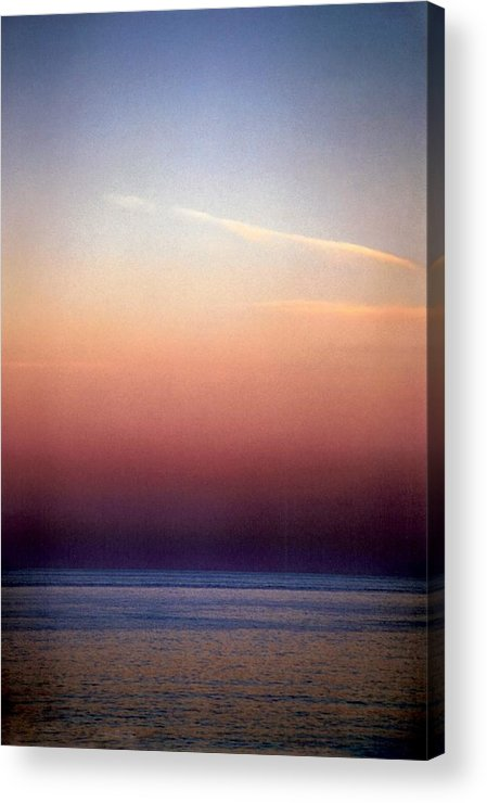 Landscape Acrylic Print featuring the photograph Vertical Number 1 by Sandra Gottlieb