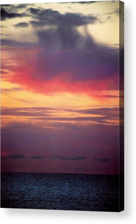 Landscape Acrylic Print featuring the photograph Vertical Number 2 by Sandra Gottlieb