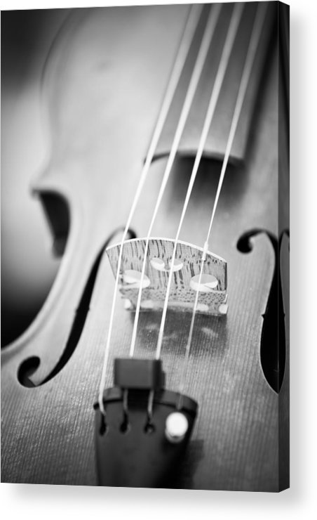 Violin Acrylic Print featuring the photograph Violin by Edward Myers