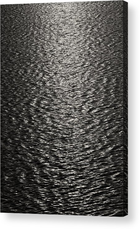 Water Acrylic Print featuring the photograph Waves And Light by Robert Ullmann