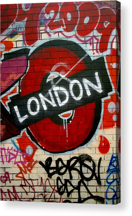 Jez C Self Acrylic Print featuring the photograph Welcome To London by Jez C Self