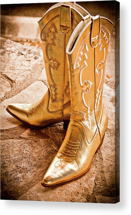Boots Acrylic Print featuring the photograph Western Wear by Jill Smith