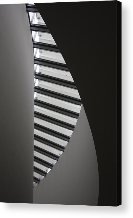 Architecture Acrylic Print featuring the photograph Winding Wall by Hans English