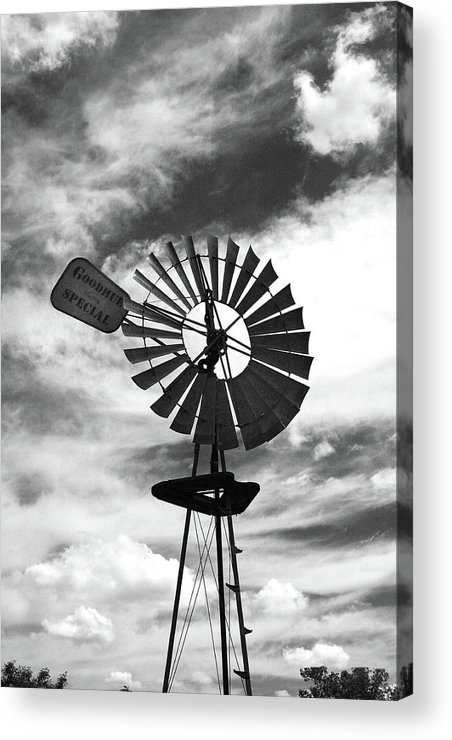 Goodhue Acrylic Print featuring the photograph Windmill by Timothy Johnson