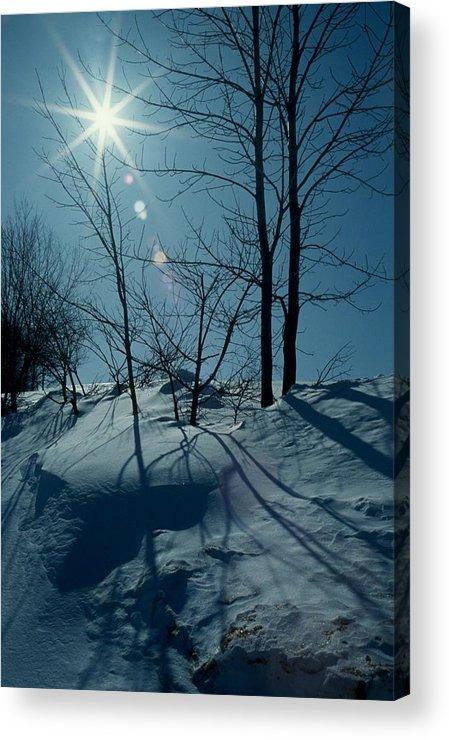 Winter Acrylic Print featuring the photograph Winter Glow by Raju Alagawadi