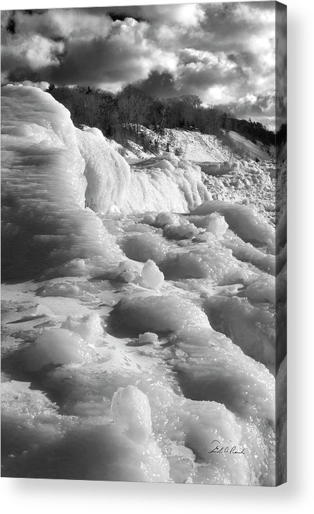 Photography Acrylic Print featuring the photograph Winter Texture by Frederic A Reinecke
