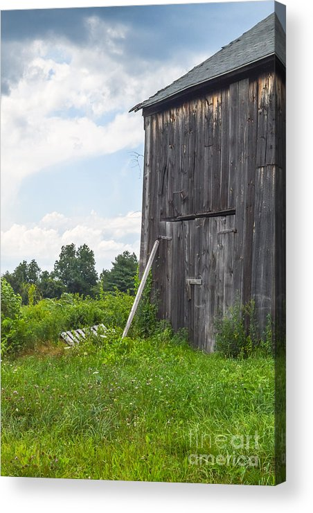 Acrylic Print featuring the photograph Working Barn by Libby Lord