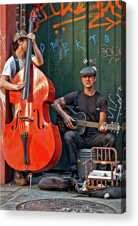 Nola Acrylic Print featuring the photograph Yeah...it Hurts So Bad by Steve Harrington