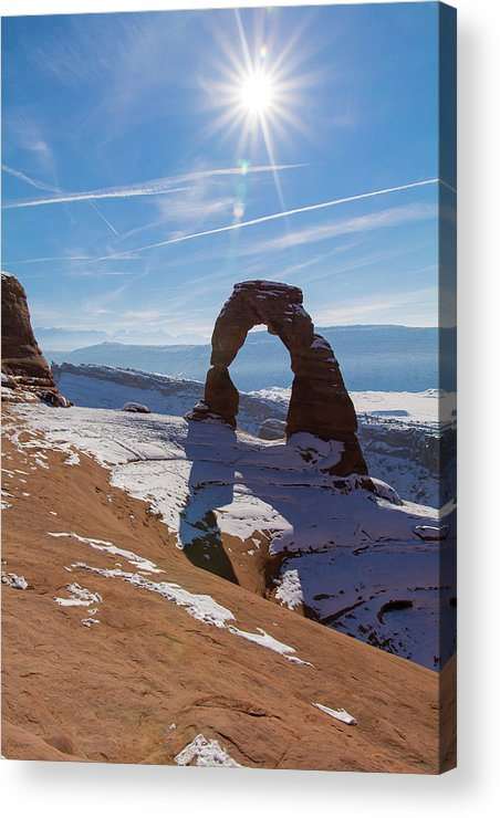 Delicate Arch Acrylic Print featuring the photograph Delicate Arch by Robert VanDerWal