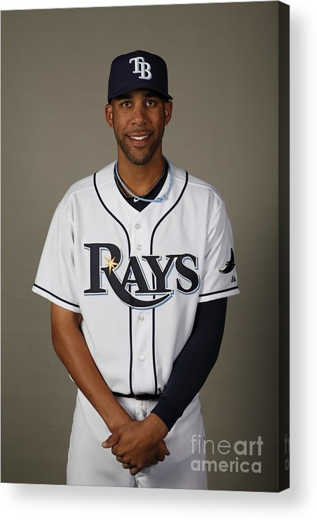 Media Day Acrylic Print featuring the photograph 2010 Major League Baseball Photo Day 2 by Robert Rogers