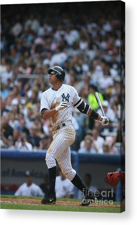 People Acrylic Print featuring the photograph Seattle Mariners V New York Yankees 4 by Rich Pilling