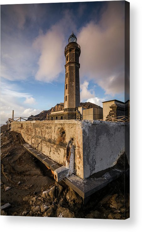 Azores Acrylic Print featuring the photograph Portugal, Azores, Faial Island by Walter Bibikow