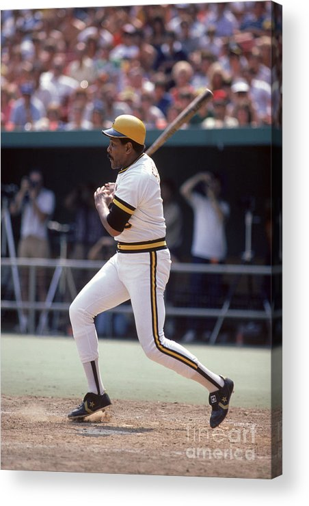 1980-1989 Acrylic Print featuring the photograph Mlb Photos Archive 69 by Rich Pilling
