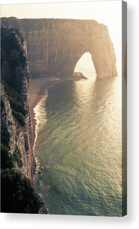 Water's Edge Acrylic Print featuring the photograph Arch by © Philippe Lejeanvre