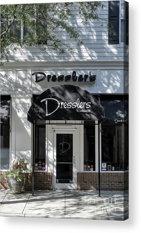 Birkdale Acrylic Print featuring the photograph Elegant Dresslers Restaurant by Amy Dundon
