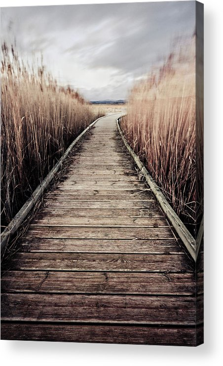 Wind Acrylic Print featuring the photograph Gangway by Javier Rosano