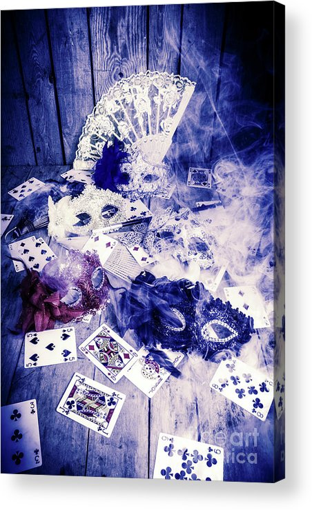 Poker Acrylic Print featuring the photograph Make Out Like A Bandit by Jorgo Photography - Wall Art Gallery