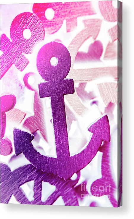 Sailing Acrylic Print featuring the photograph Stuck On Sailing Symbols by Jorgo Photography - Wall Art Gallery