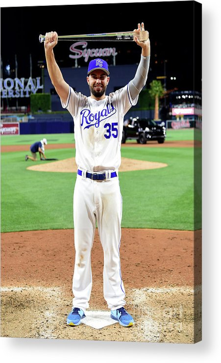 People Acrylic Print featuring the photograph Eric Hosmer by Harry How