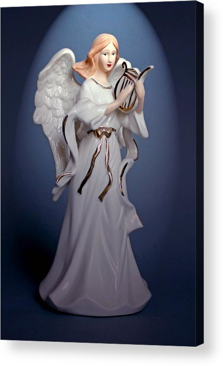 Still Life Acrylic Print featuring the photograph Angel by Jim Darnall