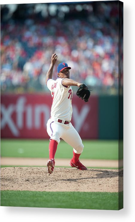 Citizens Bank Park Acrylic Print featuring the photograph Antonio Bastardo by Rob Tringali
