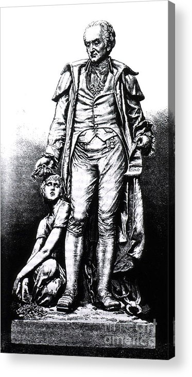 History Acrylic Print featuring the photograph Philippe Pinel, French Physician by Science Source