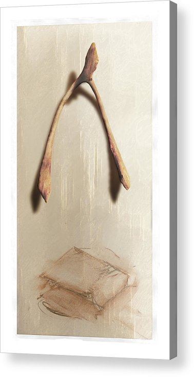 Still Life Acrylic Print featuring the digital art Leftovers by Nuff