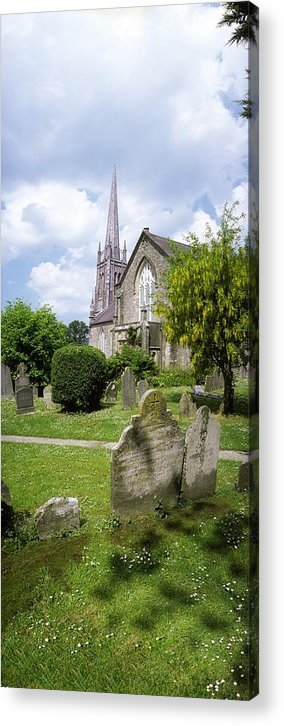 Cemetery Acrylic Print featuring the photograph Lismore, Co Waterford, Ireland by The Irish Image Collection