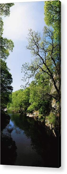 Co Derry Acrylic Print featuring the photograph River Roe, Roe Valley, Limavady, Co by The Irish Image Collection