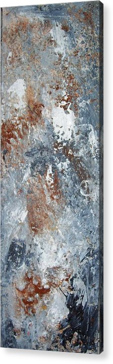 Acrylix Acrylic Print featuring the painting Untitled by Elizabeth Klecker