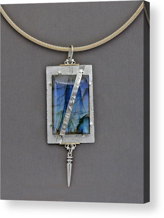 Jewelry Acrylic Print featuring the jewelry Imagine by Mirinda Kossoff