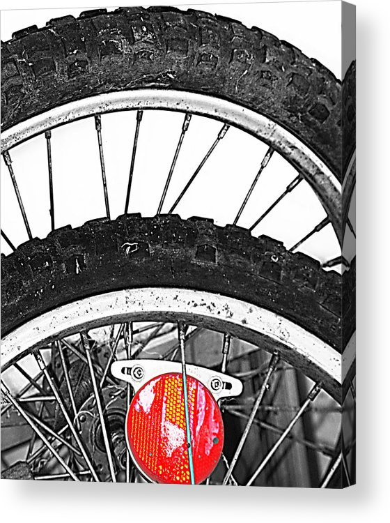 Elm Acrylic Print featuring the photograph Big Wheels Keep On Turning by The Artist Project