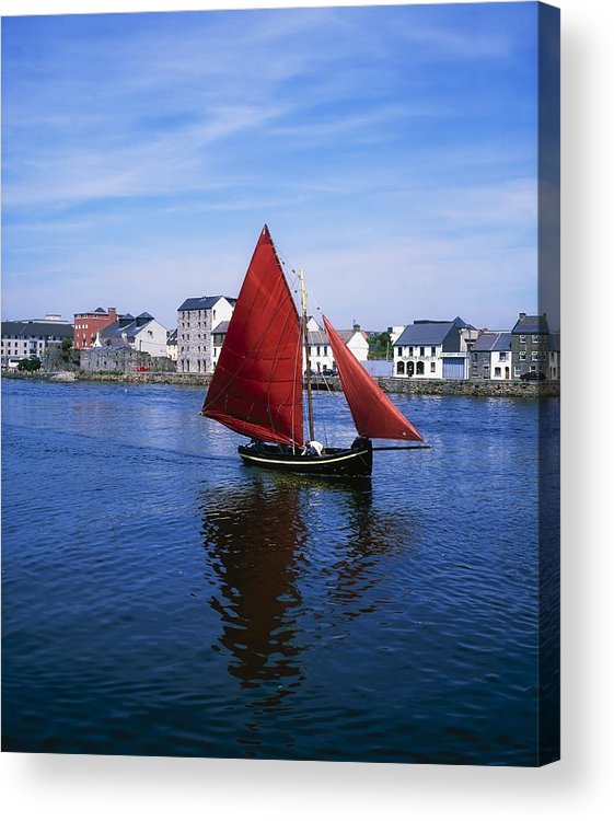 Bending Acrylic Print featuring the photograph Galway, Co Galway, Ireland Galway by The Irish Image Collection