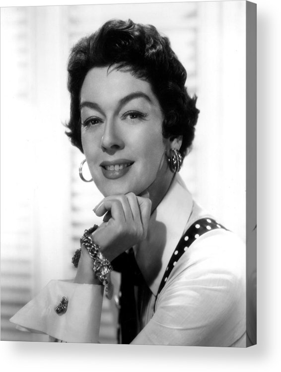 1950s Movies Acrylic Print featuring the photograph The Girl Rush, Rosalind Russell, 1955 by Everett