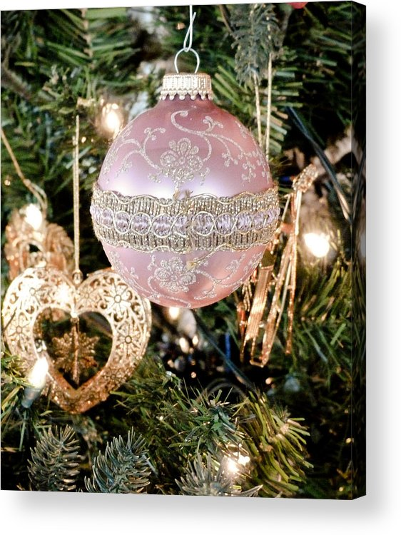 Christmas Acrylic Print featuring the photograph You Have My Heart For Christmas by Tracy Salava