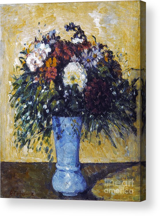 1875 Acrylic Print featuring the photograph Cezanne: Flowers, 1873-75 by Granger