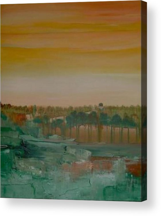 Bali Acrylic Print featuring the painting Dream Of Bali by Michael Puya