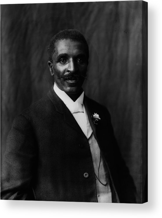 1900s Acrylic Print featuring the photograph George Washington Carver 1864-1943 by Everett