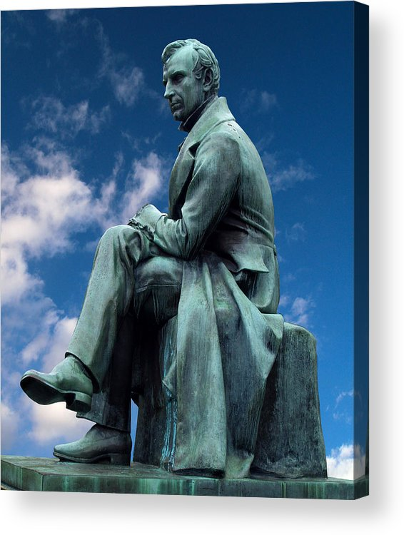 James Fenimore Cooper Acrylic Print featuring the photograph James Fenimore Cooper by Pradeep Bangalore