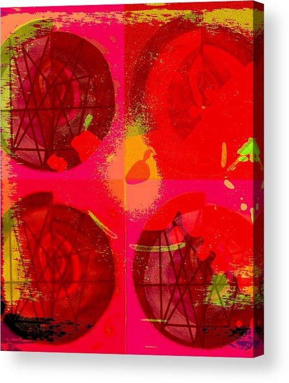 Love Acrylic Print featuring the digital art Tombola De Amor. by Mildred Ann Utroska    Mauk