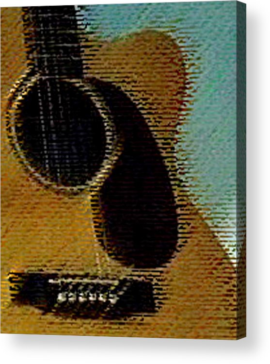 Martin Guitar Acrylic Print featuring the photograph Martin 000 by Everett Bowers