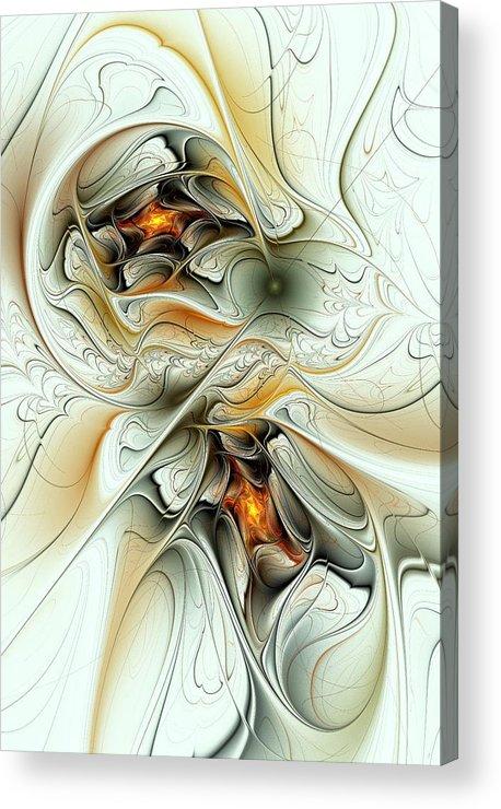 Good Acrylic Print featuring the digital art Good Intentions by Anastasiya Malakhova