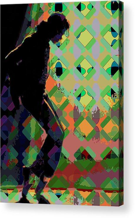 Michael Jackson Acrylic Print featuring the digital art Michael Jackson by Scott Davis