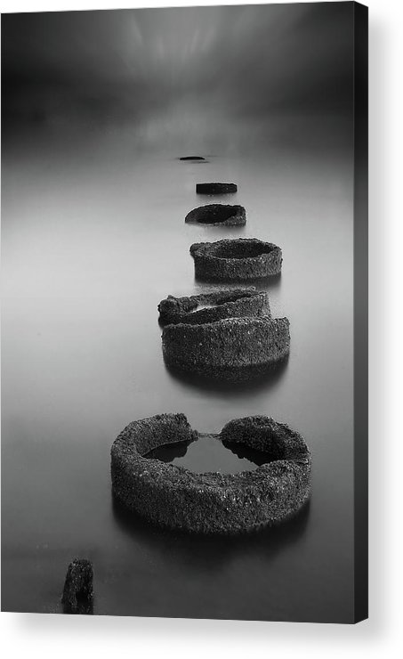 Ring Acrylic Print featuring the photograph Silent Rings by Ismail Raja Sulbar