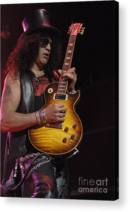 Slash Acrylic Print featuring the photograph Slash by Jenny Potter