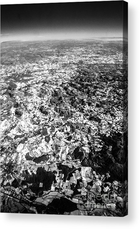 Aerial View Acrylic Print featuring the photograph Switzerland From Above by George Barker