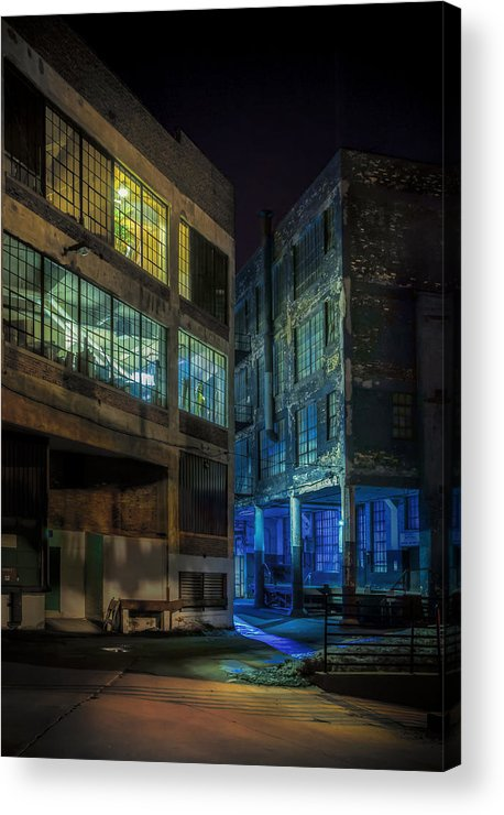 Alley Acrylic Print featuring the photograph Third Ward Alley by Scott Norris